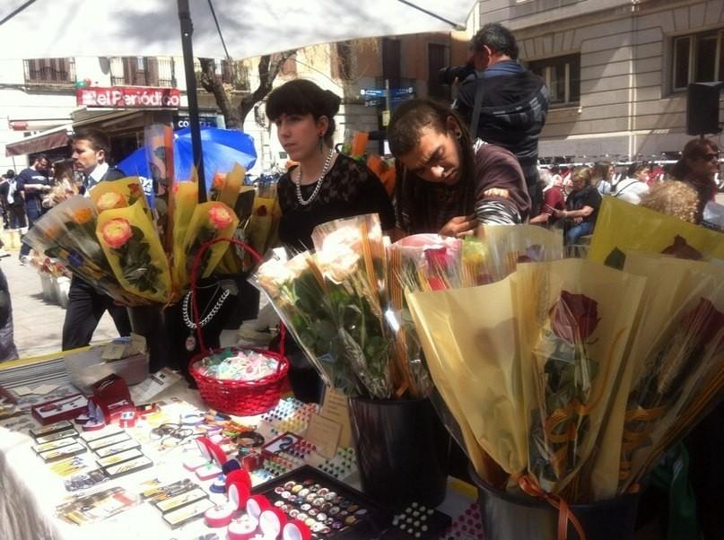 Сан Жорди - каталанский День Святого Валентина