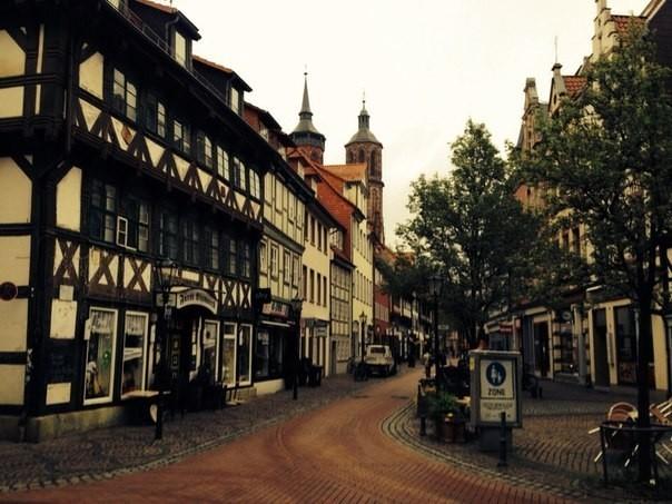 Немецкий Геттинген и окрестности - туристический сельский фанк