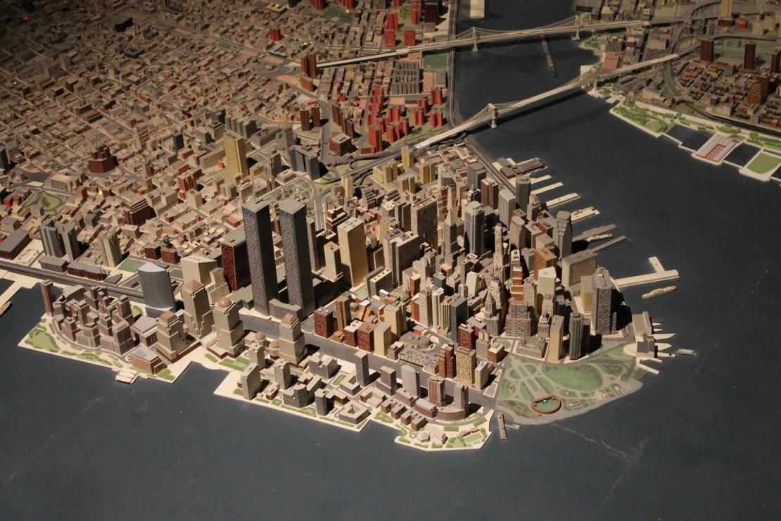 Взгляд снизу, или приключения маленького человека в Нью-Йорке