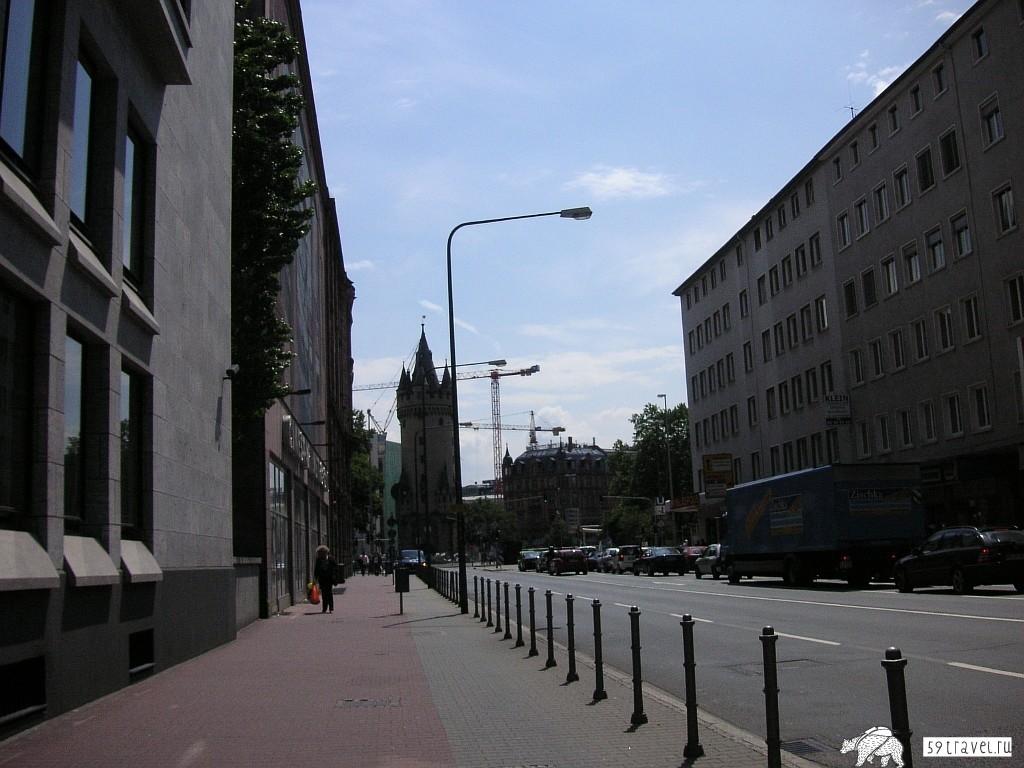 Обои улица, Гёттинген, германия, Germany, здания, Gottingen, street. Города foto 14