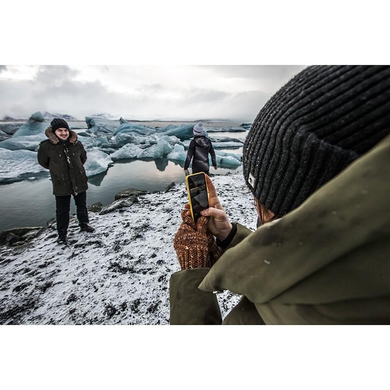 Ледниковая лагуна Йокульсаарлон в Исландии