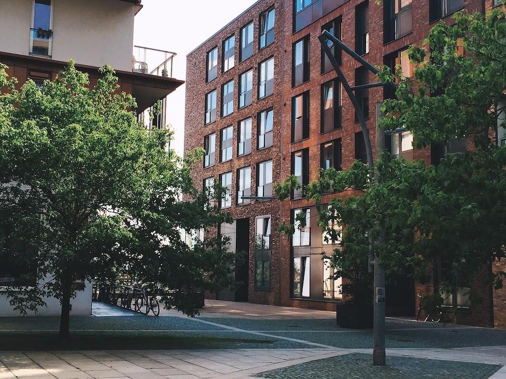 Обои улица, Гёттинген, германия, Germany, здания, Gottingen, street. Города foto 11