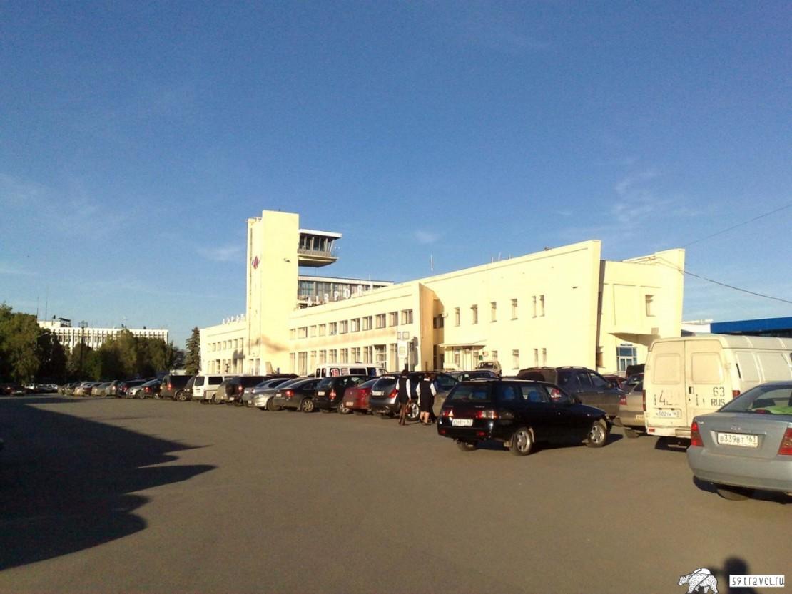 Аэропорт Курумоч - Самара (Airport Kurumoch), Россия