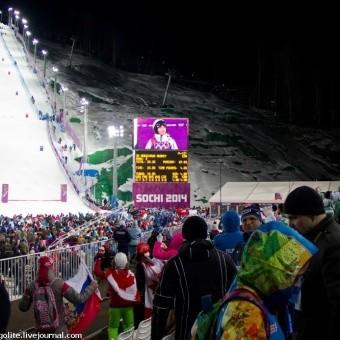 Sochi2014: Фристайл Могул в экстрим-парке Роза Хутор