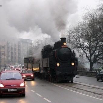 Поезда и железная дорога в Чехии