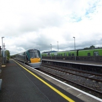 Поезда и железная дорога в Ирландии