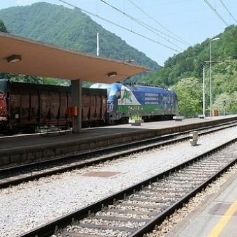Поезда и железная дорога в Словении