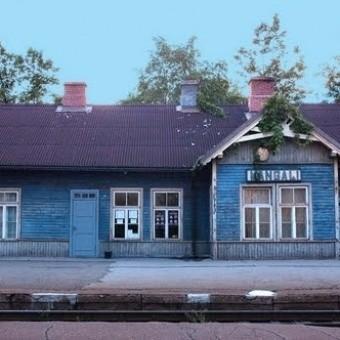 Поезда и железная дорога в Латвии