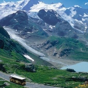 «Почтовые автобусы» в Швейцарии