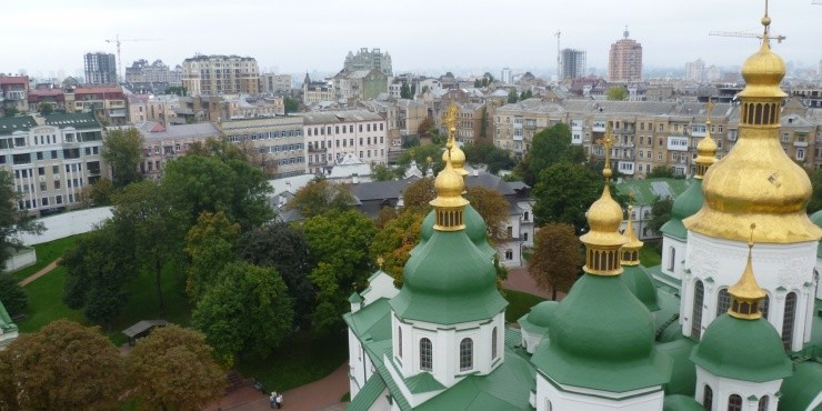 Часть 2. Продолжаем гулять по Киеву