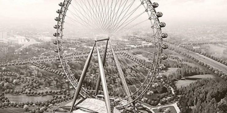В Иерусалиме появится самое большое в мире колесо обозрения