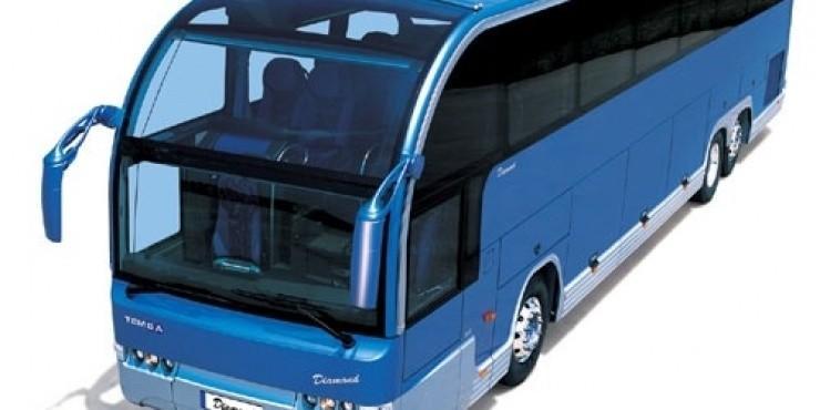 Автобус из Латвии с очень большим пробегом