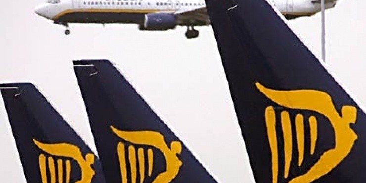 Ryanair отменил рейс Тампере - Милан