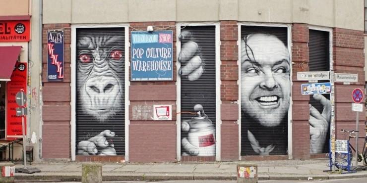 Этнопреступность, берлинский Street Art и зеленая революция