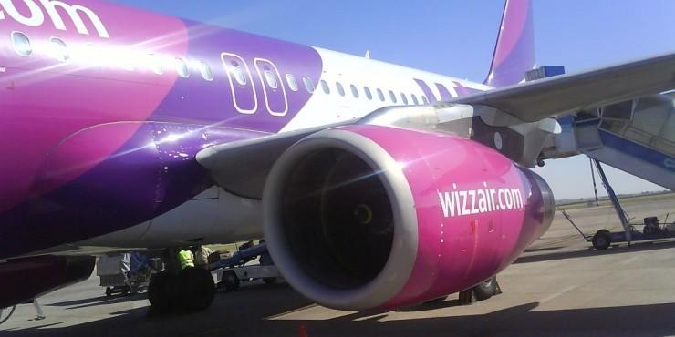 Скидка 20% на рейсы Wizzair