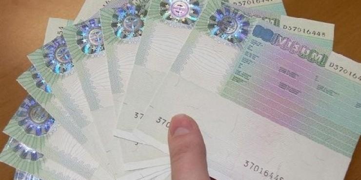 Национальная виза с ограничением территории действия - Limited territorial validity visa (LTV)