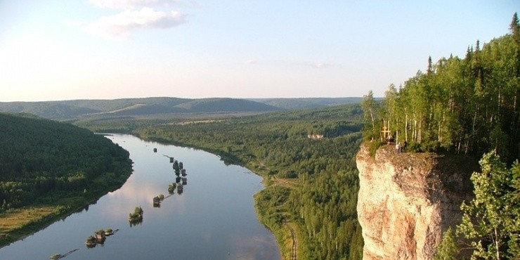 Вишерский заповедник: лес, река и скалы