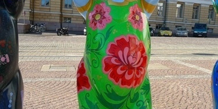 Медведи в Хельсинки
