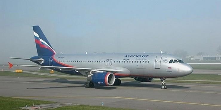 Самолет Аэрофлота совершил вынужденную посадку в Большом Савино
