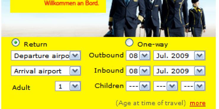 Новые рейсы авиакомпании TUIfly