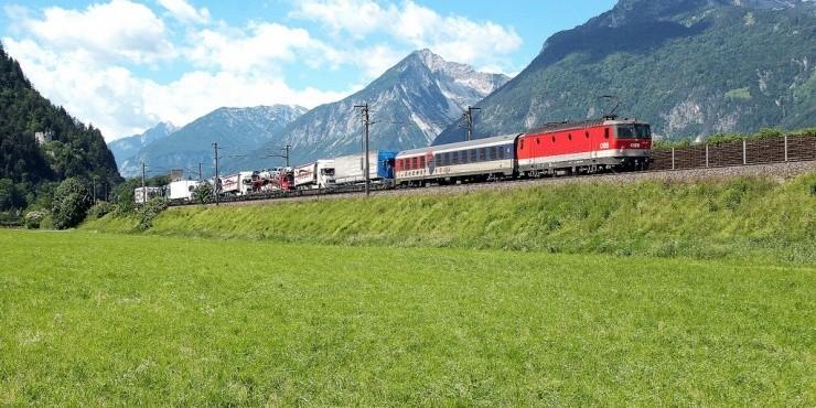 Поезда и железная дорога в Австрии