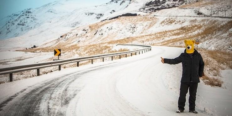 Зимняя Исландия: северные сияния посреди марсианских пейзажей. 18.12