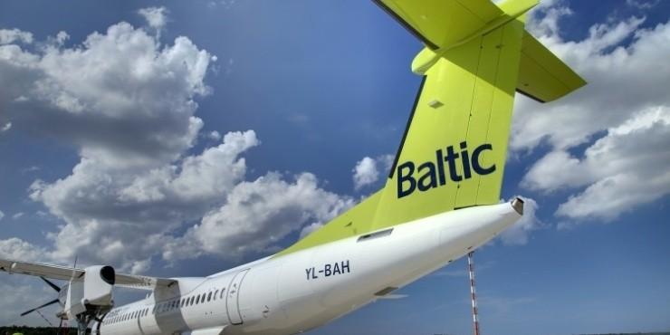 Скидка 50% на все рейсы AirBaltic