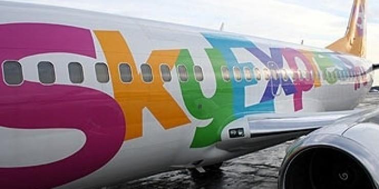 Sky Express отменил топливный сбор на рейсах Москва - Санкт-Петербург