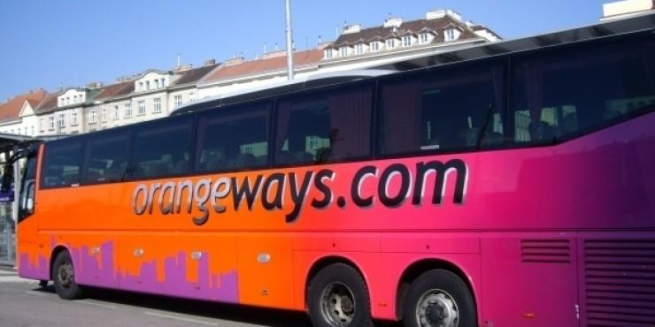 Автобусная компания Orangeways только 20 февраля делает скидку 20%