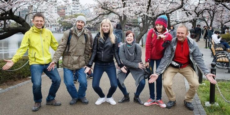 Япония: замри и созерцай