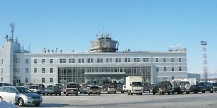 Аэропорт Южно-Сахалинск - Хомутово (Airport Khomutovo), Россия