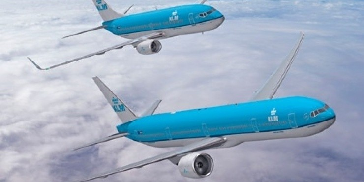 Распродажа KLM в Европу и ЮАР