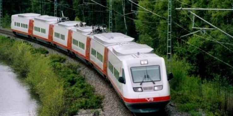 Поезда и железная дорога в Финляндии