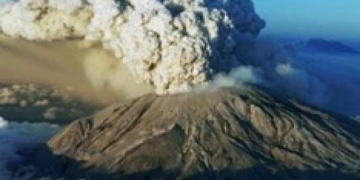Исландский вулкан создал проблемы с авиасообщением в Европе