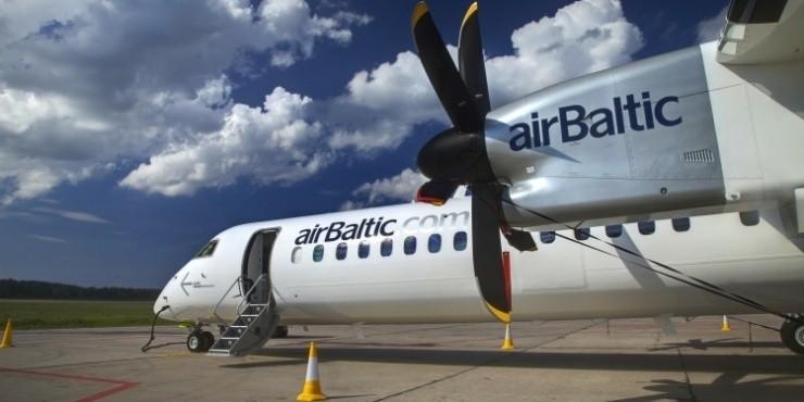 На борту AirBaltic можно купить ваучеры на перелеты