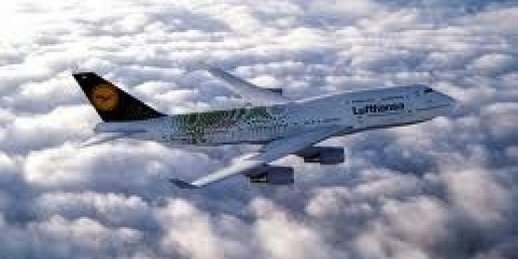 Распродажа Lufthansa в Европу
