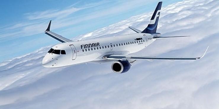 Распродажа Finnair в Европу