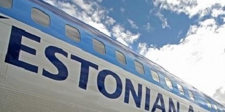 Estonian Air - скидка 33 процента на прямые рейсы