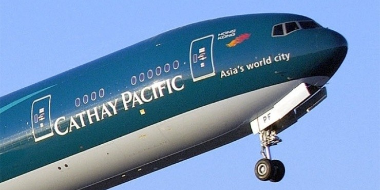 Распродажа Cathay Pacific в Гонконг