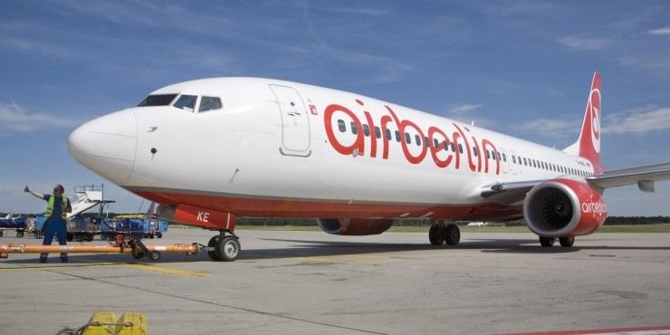 AirBerlin проводит короткую распродажу авиабилетов