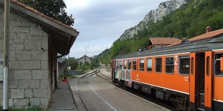 Поезда и железная дорога в Хорватии