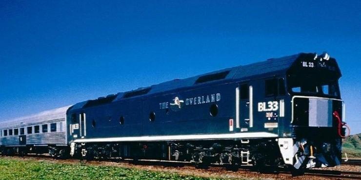 Поезда и железная дорога в Австралии
