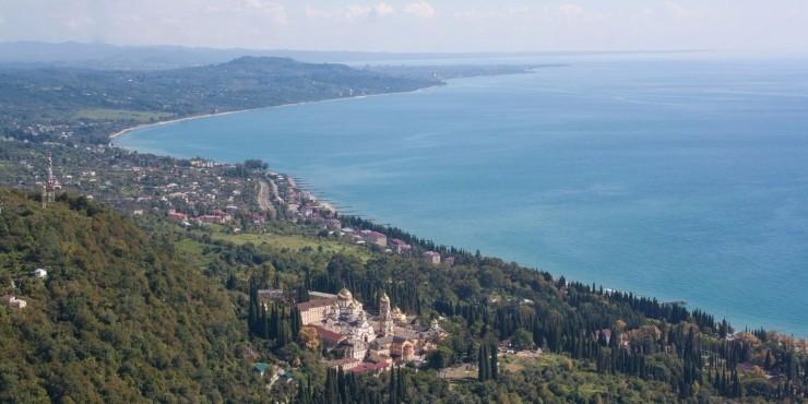 Абхазия. Море и немного гор