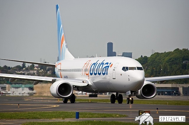 Молодая, но амбициозная арабская авиакомпания - FlyDubai