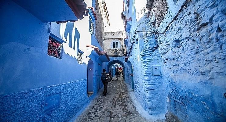 Шефшауен в Марокко — самый синий город на Земле