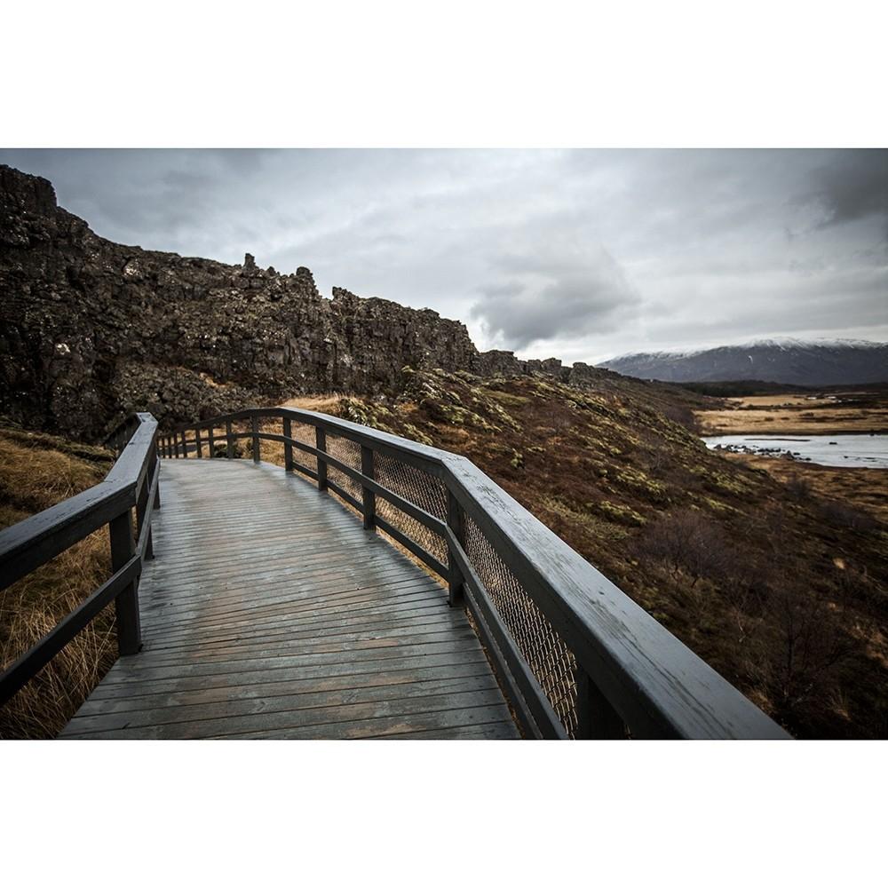 Национальный парк Тингвеллир в Исландии