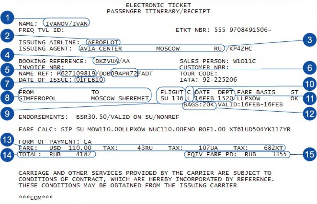 Обозначения типа самолетов в билете билеты на самолет до москвы дешево аэрофлот