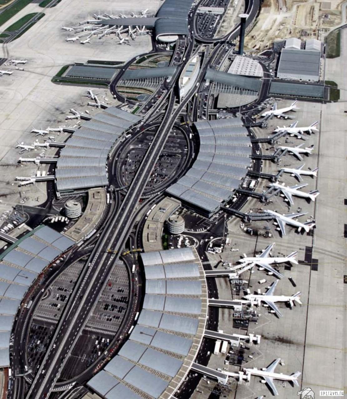 Аэропорт Париж - Руасси-Шарль-де-Голль (Airport Roissy-Charles de Gaulle), Франция
