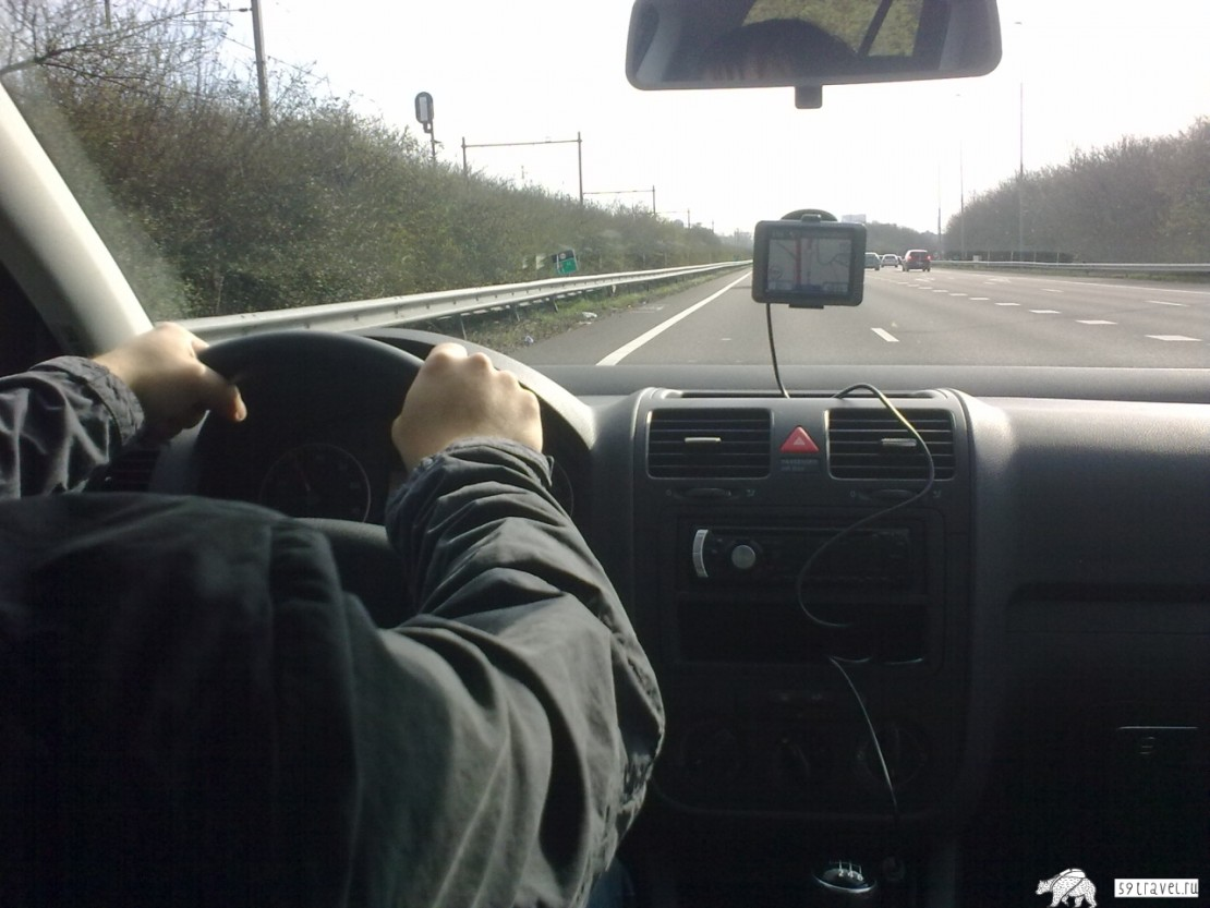 По Европе на авто