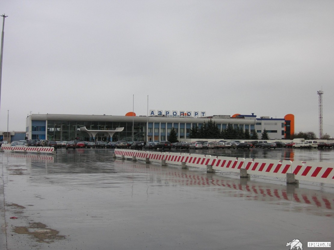 Аэропорт Храброво - Калининград (Airport Khrabrovo), Россия